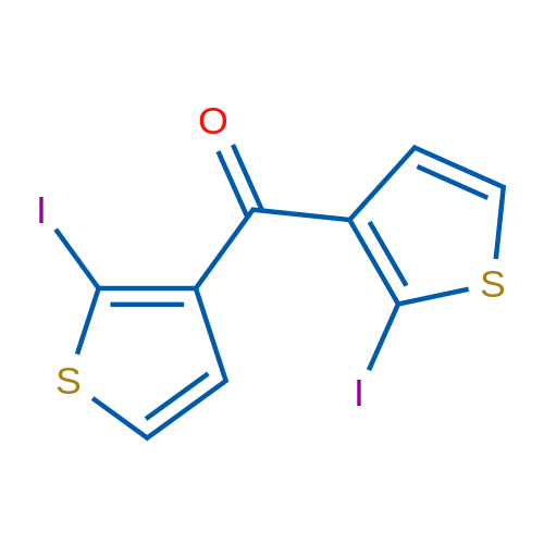 Bis(2-iodothiophen-3-yl)methanone