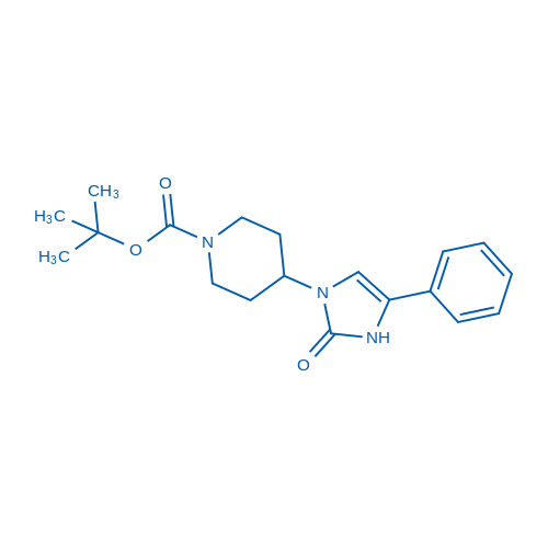 tert-Butyl 4-(2-oxo-4-phenyl-2,3-dihydro-1H-imidazol-1-yl)piperidine-1-carboxylate