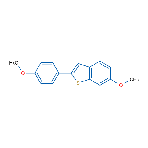 6-Methoxy-2-(4-methoxyphenyl)benzo[b]thiophene