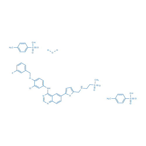 Lapatinib ditosylate hydrate