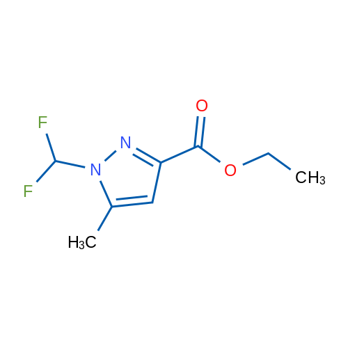 Ethyl 1-(difluoromethyl)-5-methyl-1H-pyrazole-3-carboxylate