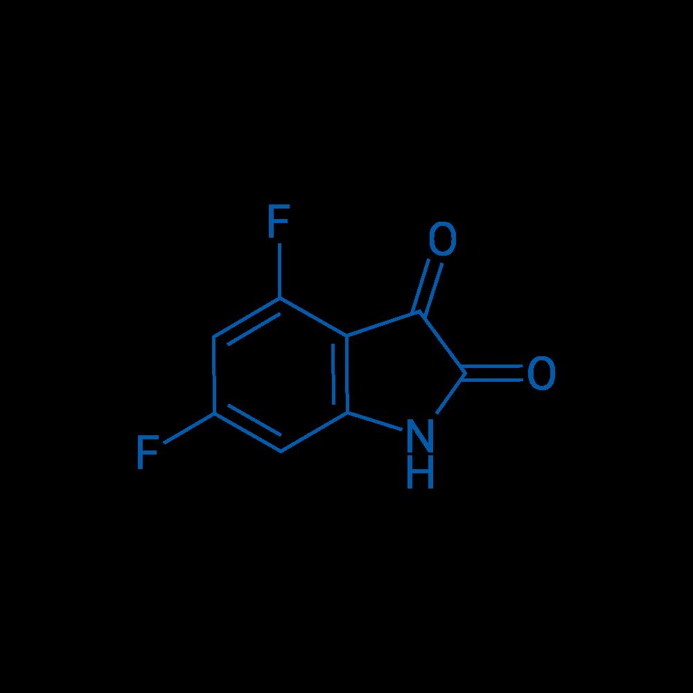 4,6-Difluoro-1H-indole-2,3-dione