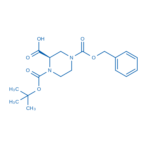 (R)-4-((Benzyloxy)carbonyl)-1-(tert-butoxycarbonyl)piperazine-2-carboxylic acid