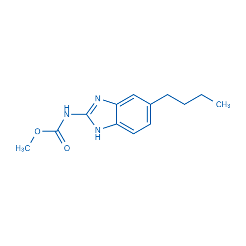 Methyl (5-butyl-1H-benzo[d]imidazol-2-yl)carbamate