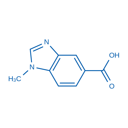 1-Methyl-1H-benzo[d]imidazole-5-carboxylic acid