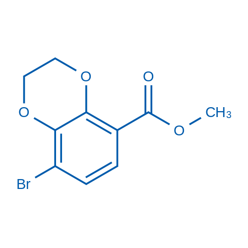 Methyl 8-bromo-2,3-dihydrobenzo[b][1,4]dioxine-5-carboxylate