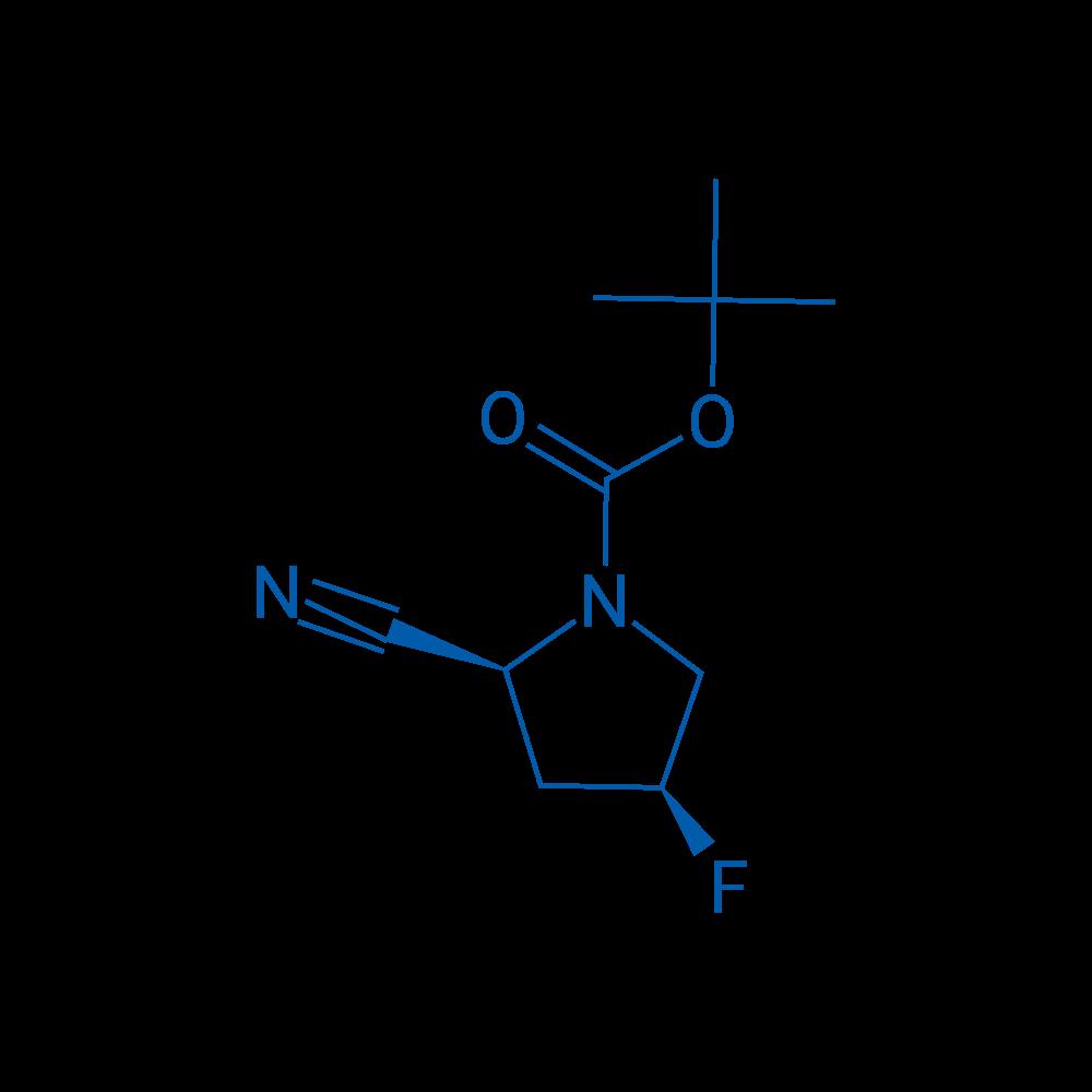 (2S,4S)-tert-Butyl 2-cyano-4-fluoropyrrolidine-1-carboxylate