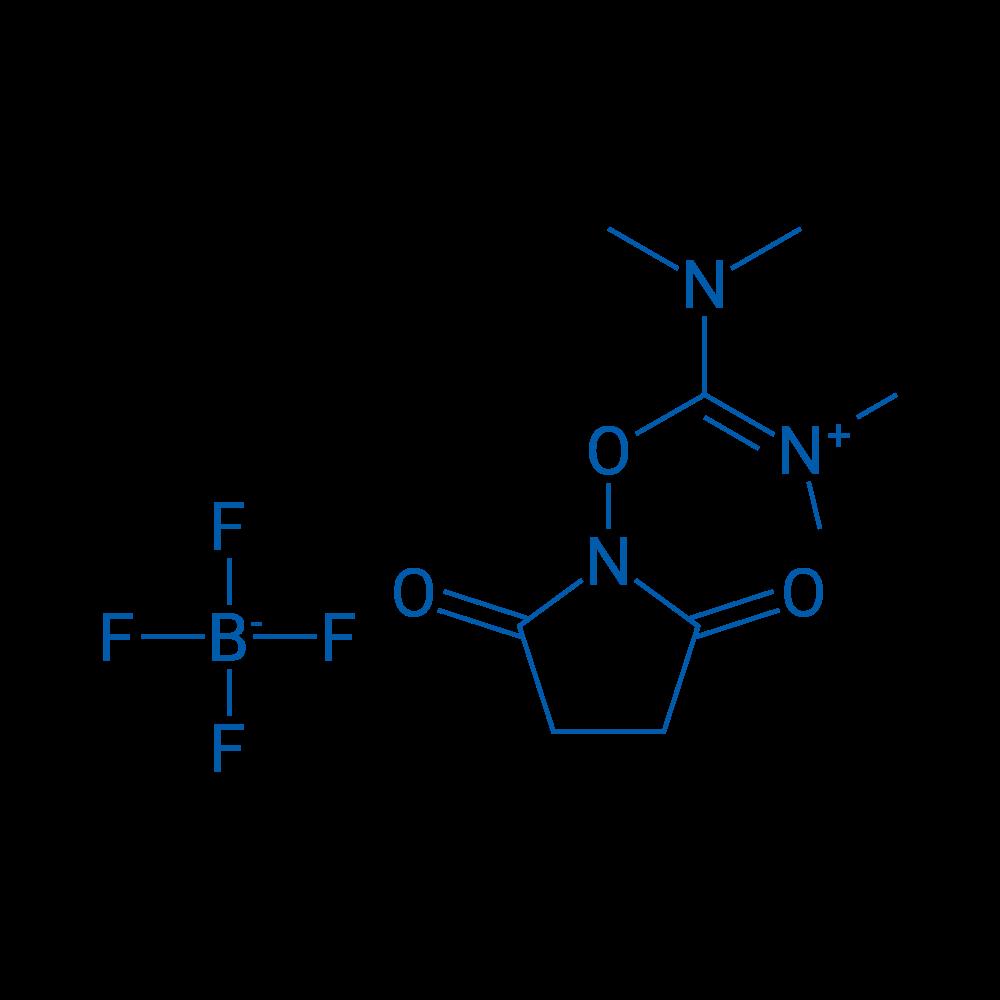 2-(2,5-Dioxopyrrolidin-1-yl)-1,1,3,3-tetramethylisouronium tetrafluoroborate