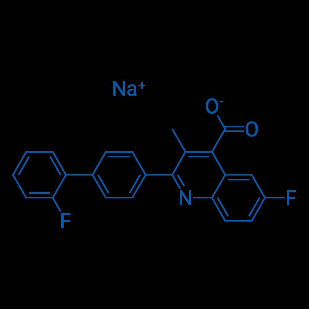 Brequinar sodium
