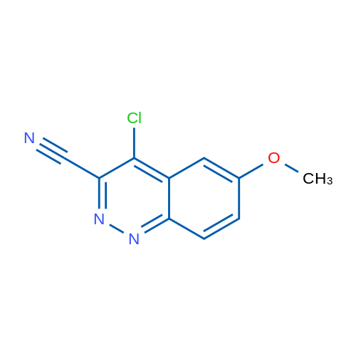 4-Chloro-6-methoxycinnoline-3-carbonitrile