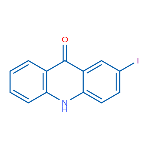 2-Iodoacridin-9(10H)-one