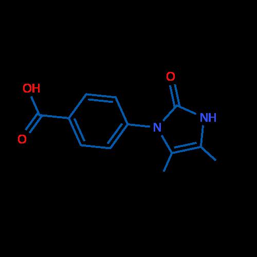 4-(4,5-Dimethyl-2-oxo-2,3-dihydro-1H-imidazol-1-yl)benzoic acid