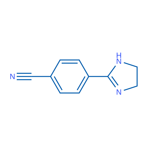 4-(4,5-Dihydro-1H-imidazol-2-yl)benzonitrile