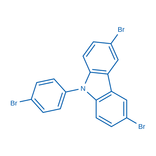 3,6-Dibromo-9-(4-bromophenyl)-9H-carbazole