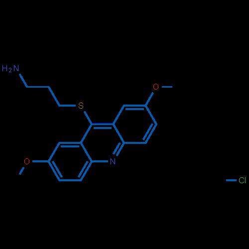 3-[(2,7-Dimethoxy-9-acridinyl)thio]-1-propanamine Hydrochloride