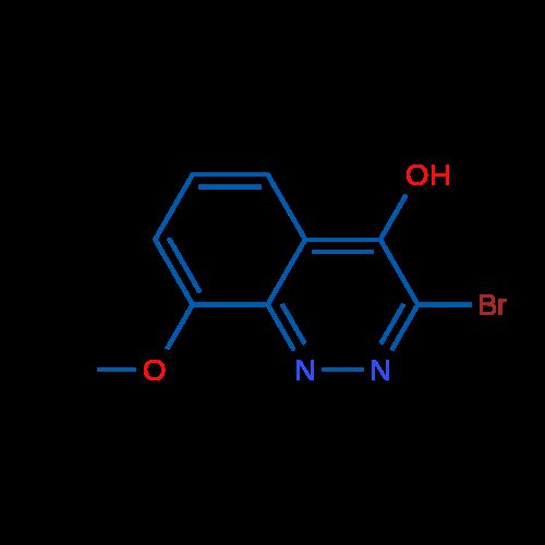 3-Bromo-8-methoxycinnolin-4-ol