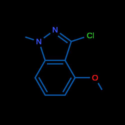 3-Chloro-4-methoxy-1-methyl-1H-indazole