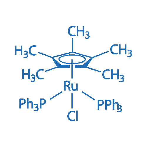 Chloro(pentamethylcyclopentadienyl)bis(triphenylphosphine)ruthenium(II)