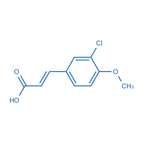 3-(3-Chloro-4-methoxyphenyl)acrylic acid