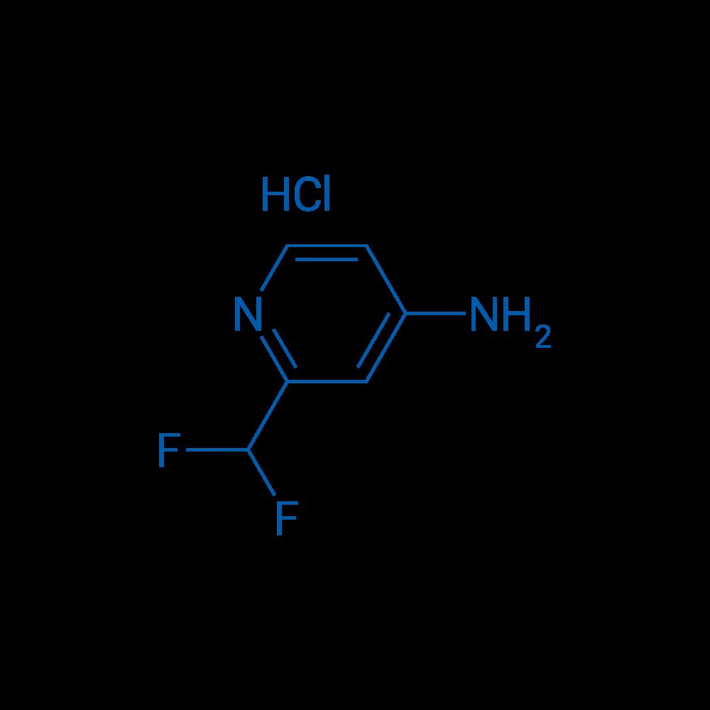 2-(Difluoromethyl)pyridin-4-amine hydrochloride