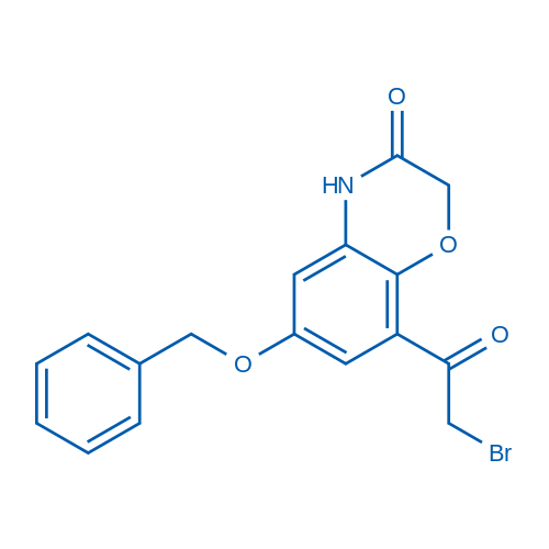 6-(Benzyloxy)-8-(2-bromoacetyl)-2H-benzo[b][1,4]oxazin-3(4H)-one