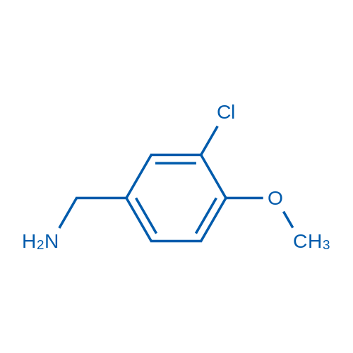 (3-Chloro-4-methoxyphenyl)methanamine