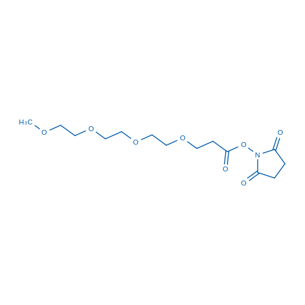 2,5-Dioxopyrrolidin-1-yl 2,5,8,11-tetraoxatetradecan-14-oate