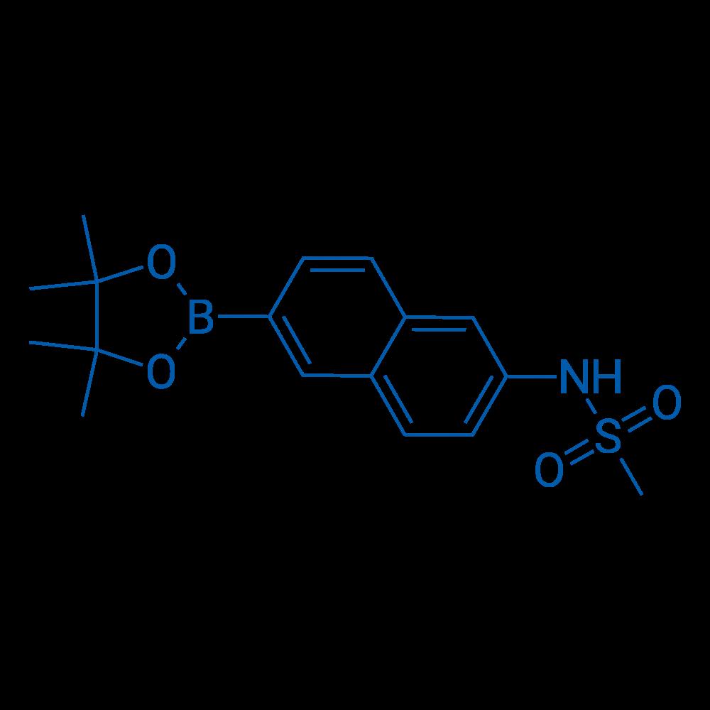 N-(6-(4,4,5,5-Tetramethyl-1,3,2-dioxaborolan-2-yl)naphthalen-2-yl)methanesulfonamide