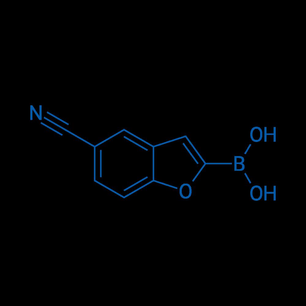 (5-Cyanobenzofuran-2-yl)boronic acid