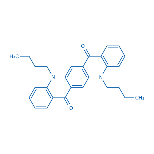 5,12-Dibutylquinolino[2,3-b]acridine-7,14(5H,12H)-dione