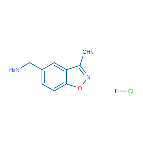 (3-Methylbenzo[d]isoxazol-5-yl)methanamine hydrochloride