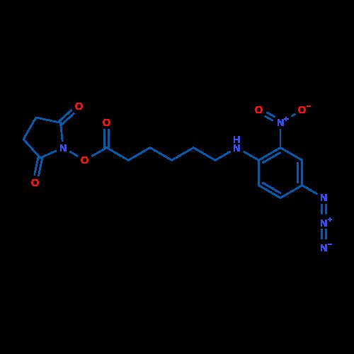 2,5-Dioxopyrrolidin-1-yl 6-((4-azido-2-nitrophenyl)amino)hexanoate