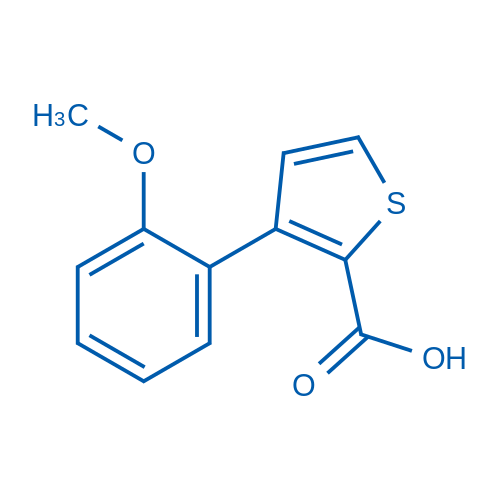 3-(2-Methoxyphenyl)thiophene-2-carboxylic acid