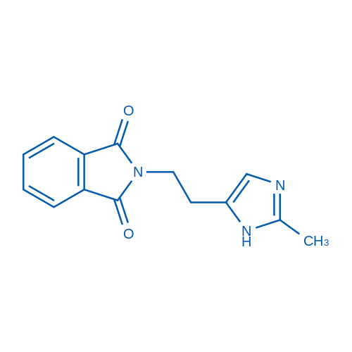 2-(2-(2-Methyl-1H-imidazol-5-yl)ethyl)isoindoline-1,3-dione