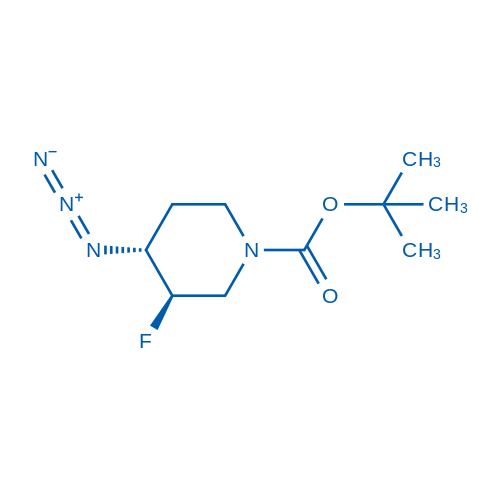 (3R,4R)-rel-tert-Butyl 4-azido-3-fluoropiperidine-1-carboxylate