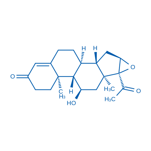(11α,16α)-16,17-Epoxy-11-hydroxypregn-4-ene-3,20-dione