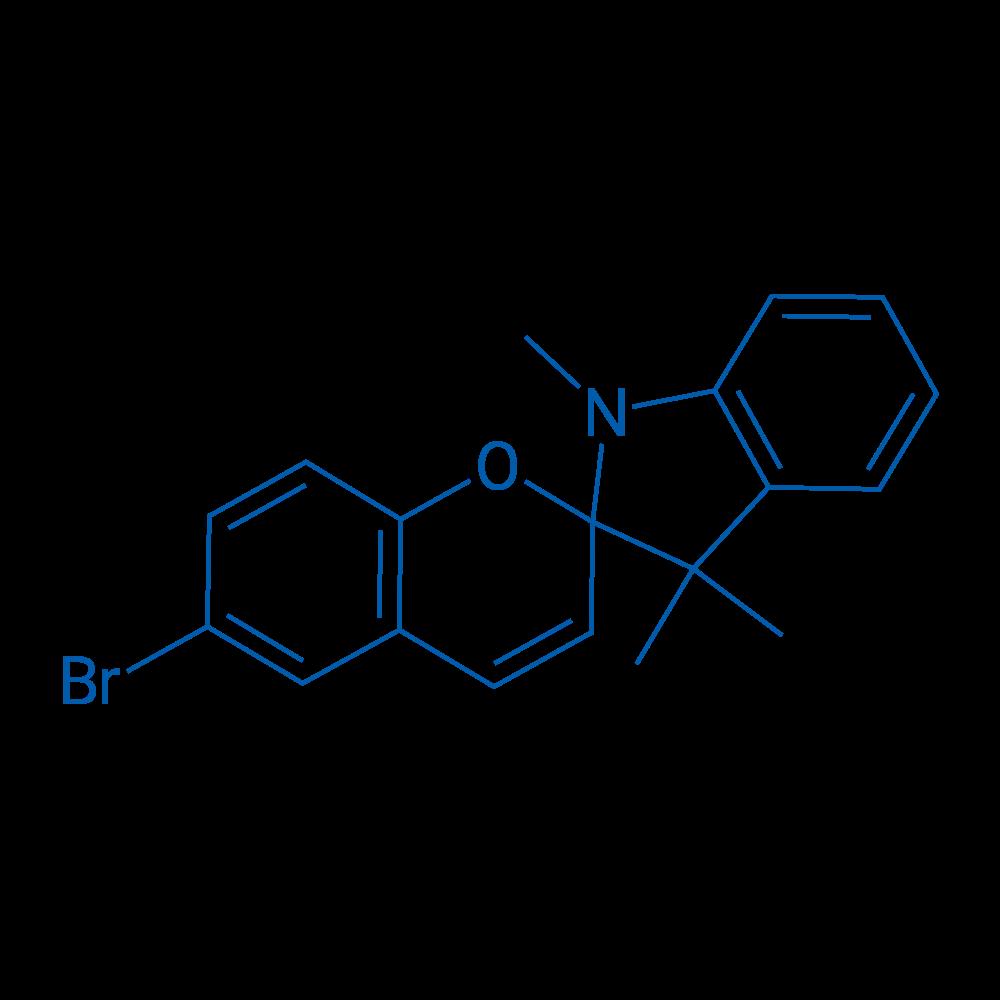 6-Bromo-1',3',3'-trimethylspiro[chromene-2,2'-indoline]