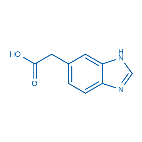 2-(1H-Benzo[d]imidazol-6-yl)acetic acid