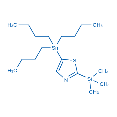 5-(Tributylstannyl)-2-(trimethylsilyl)thiazole