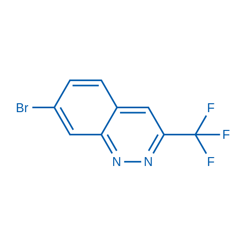 7-Bromo-3-(trifluoromethyl)cinnoline