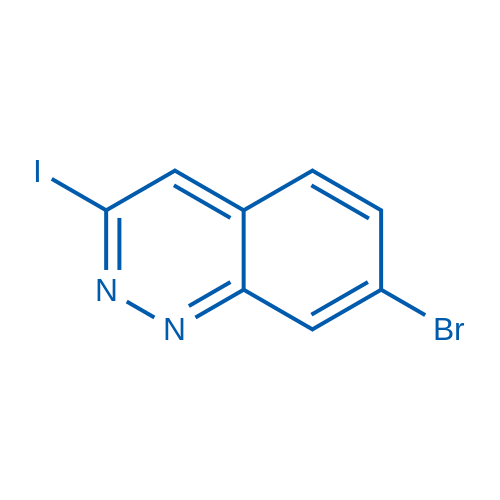 7-Bromo-3-iodocinnoline