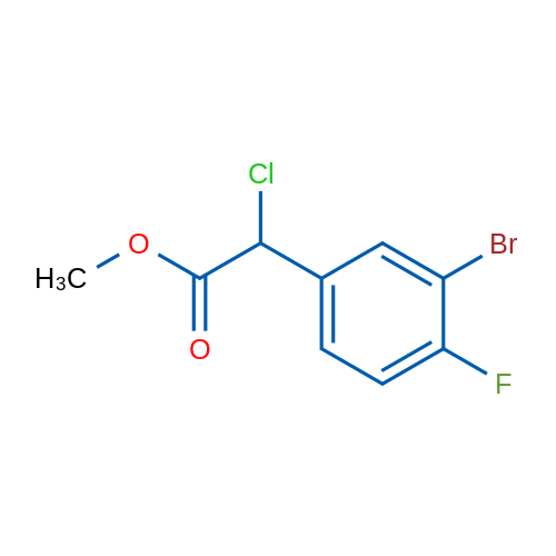 Methyl 2-(3-bromo-4-fluorophenyl)-2-chloroacetate