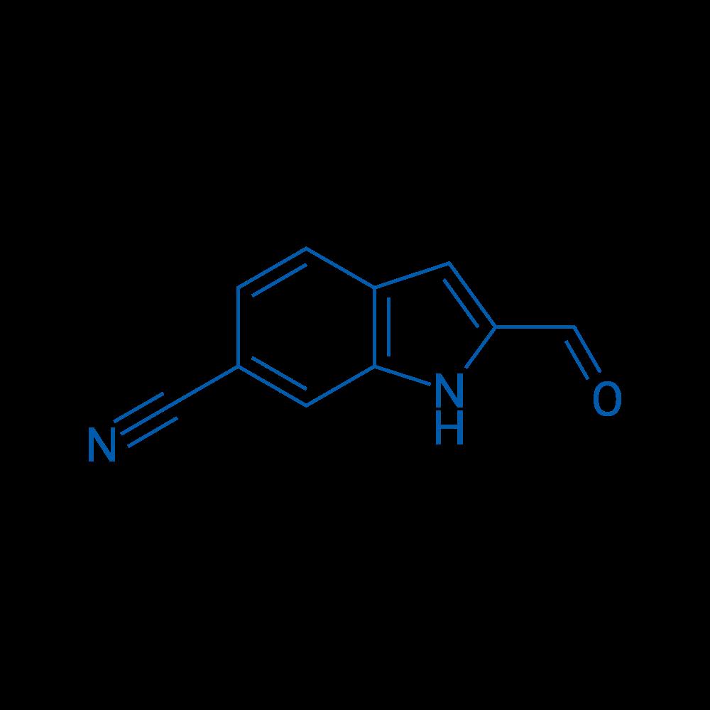 2-Formyl-1H-indole-6-carbonitrile