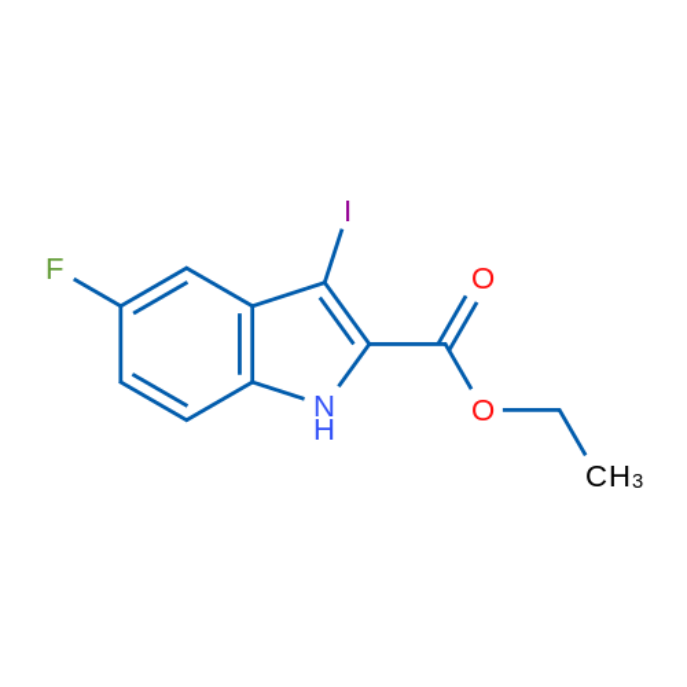 Ethyl 5-fluoro-3-iodo-1H-indole-2-carboxylate
