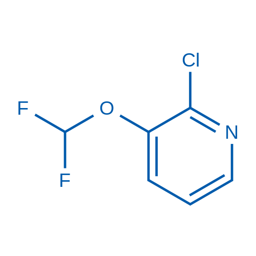 2-Chloro-3-(difluoromethoxy)pyridine