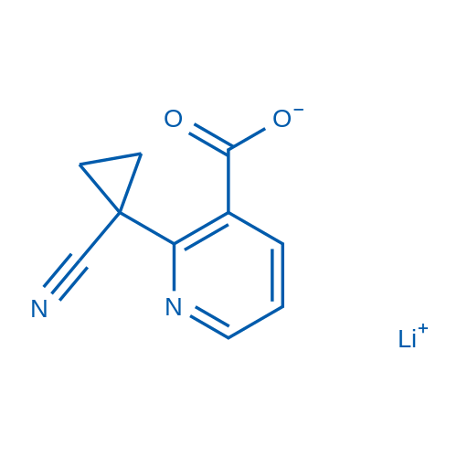 Lithium 2-(1-cyanocyclopropyl)nicotinate