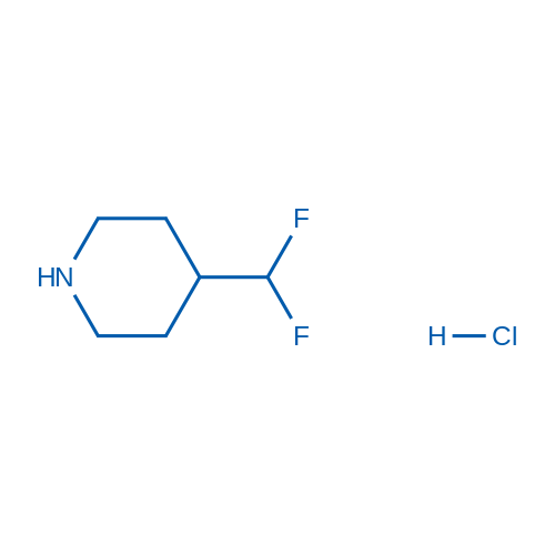 4-(Difluoromethyl)piperidine hydrochloride