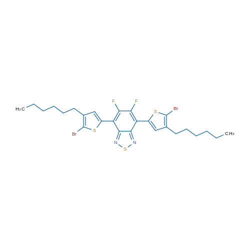 4,7-Bis(5-bromo-4-hexylthiophen-2-yl)-5,6-difluorobenzo[c][1,2,5]thiadiazole