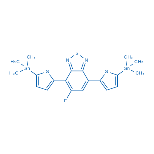 5-Fluoro-4,7-bis(5-(trimethylstannyl)thiophen-2-yl)benzo[c][1,2,5]thiadiazole
