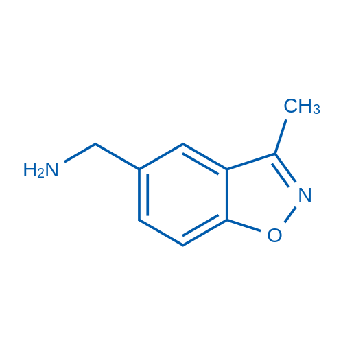(3-Methylbenzo[d]isoxazol-5-yl)methanamine